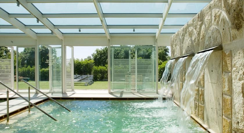 stabilimento termale albergo le terme terme di bagno vignoni