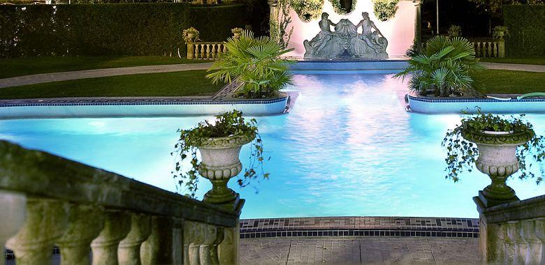 dettaglio dell'Hotel Ritz di Abano Terme