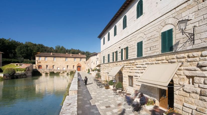 Stabilimento termale albergo le terme terme di bagno vignoni gogoterme - Dormire a bagno vignoni ...