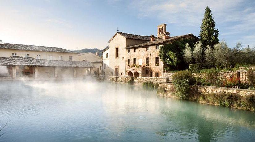 Stabilimento termale albergo le terme terme di bagno - Bagno vignoni terme libere ...